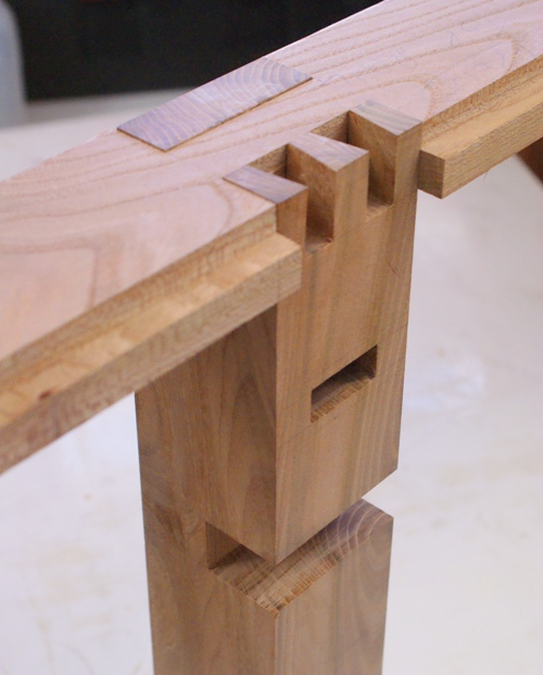 Join on pinterest woodworking joints joinery and wood for Table joints